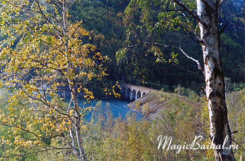 Мост через речку большая крутая губа