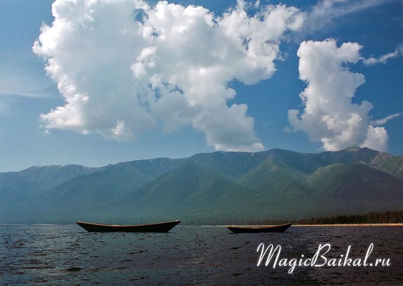 Фотографии озера Байкал.  Фото Байкала, юго-восточное побережье Байкала (севернее мыса Шаманский) .