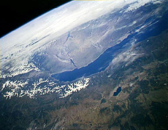 фото байкала из космоса