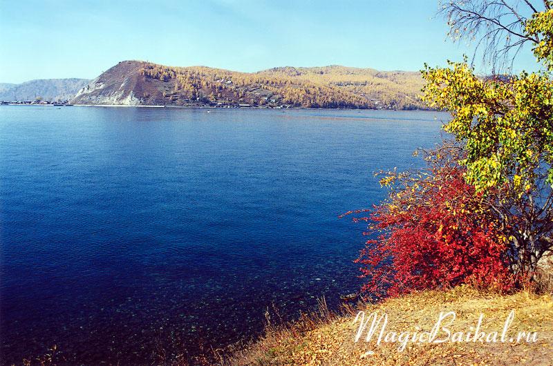 Исток ангары осень озеро байкал юго