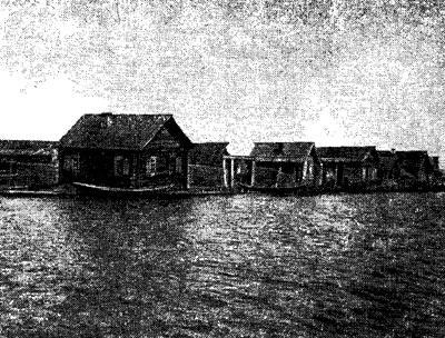 Признаки опускания берега, сел. Усть-Баргузин в 1932 г.