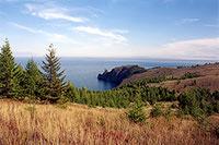 Мыс Хобой, северная оконечность острова Ольхон. (55kb)