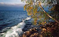 Озеро Байкал. Осень